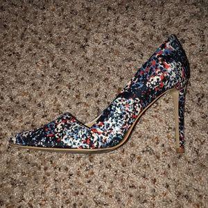 Multicolor Heels